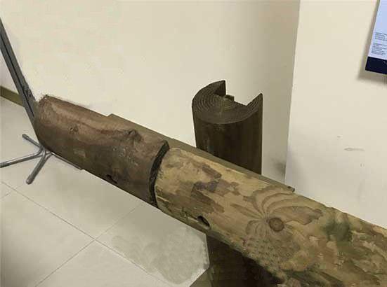 钢背木护栏